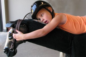 Child on Equicizer